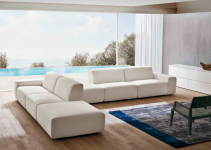 Brillante sofá rinconera