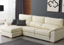 Sofá con chaiselongue pequeño y barato