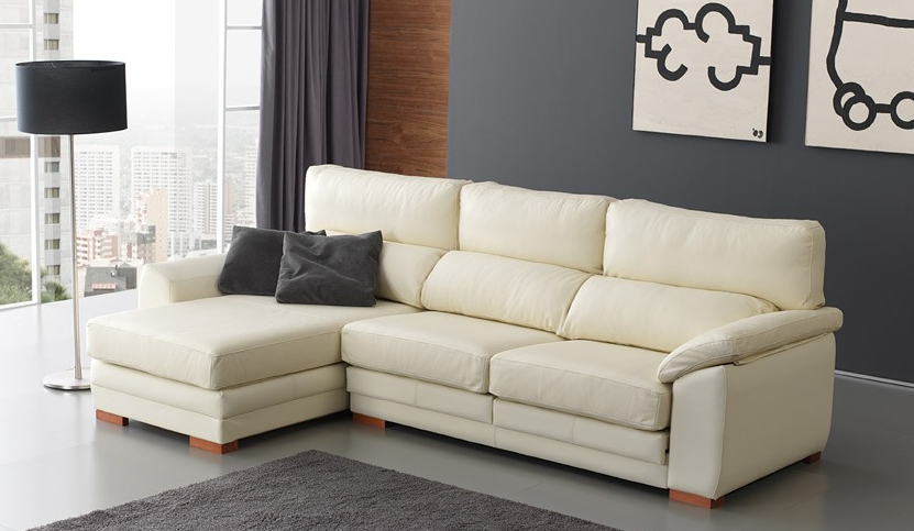 Sof s peque os baratos for Sofa blanco barato
