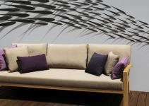 Sofá 3 plazas para espacios pequeños