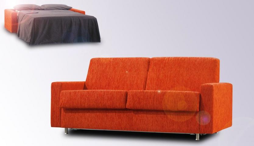 Sof cama peque o de apertura italiana im genes y fotos for Sofa cama pequeno conforama
