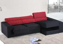 Sofá cama pequeño estilo moderno