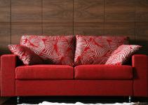 Sofá moderno pequeño