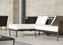 Sofá modular para salones pequeños