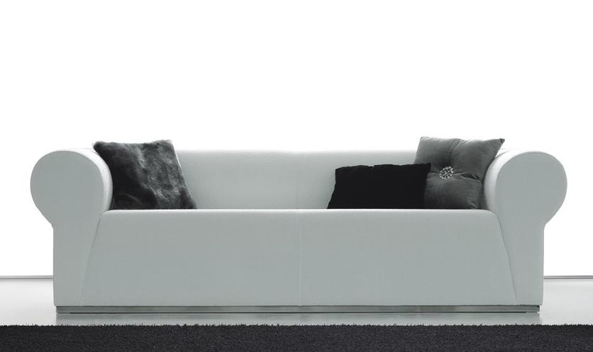 Sofá pequeño de diseño moderno