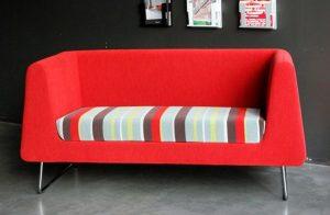 Sofás pequeños modernos